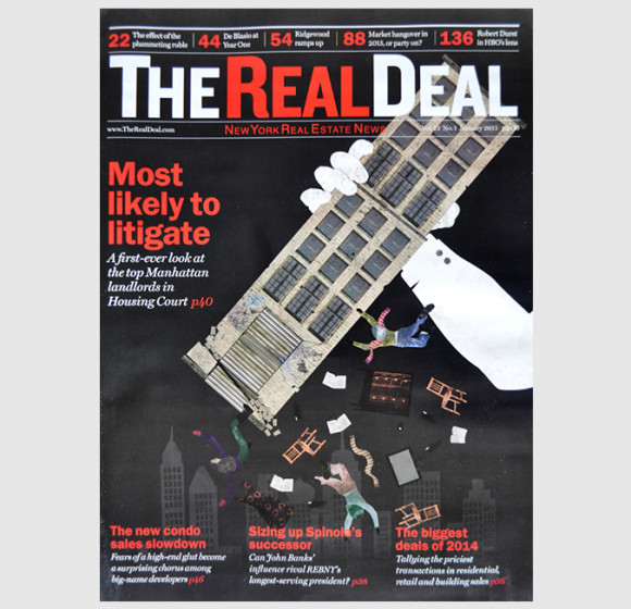 The Real Deal Magazine Cover Illustrations