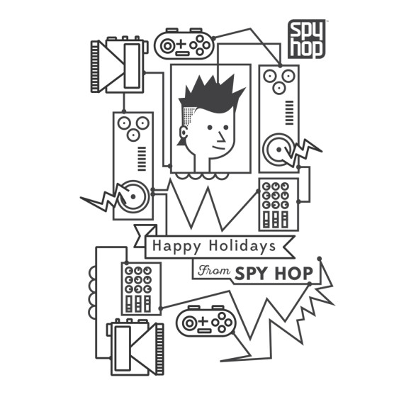 Spy Hop Holiday Cards