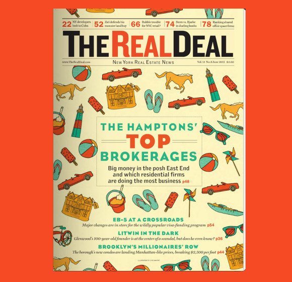 Real Deal Magazine Cover Illustration