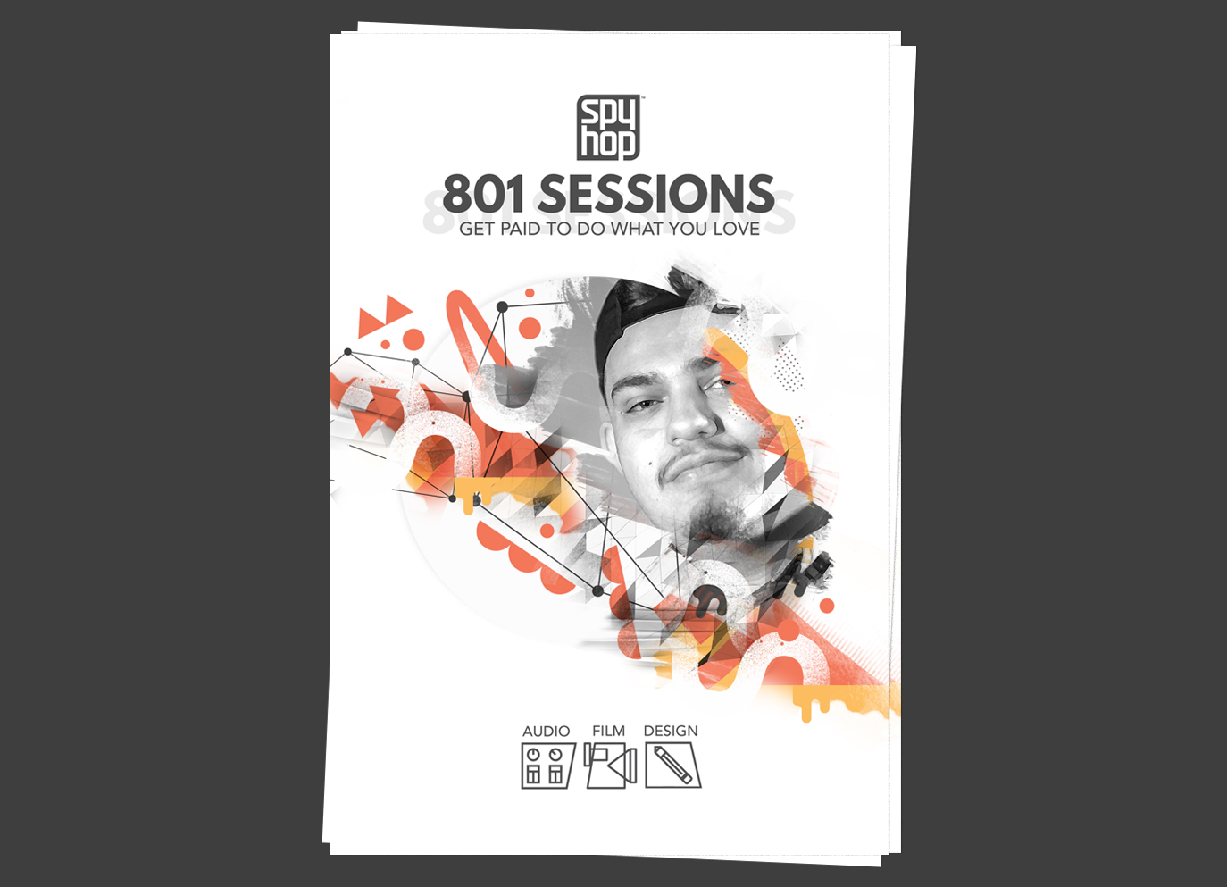 801 Sessions Digital Illustration