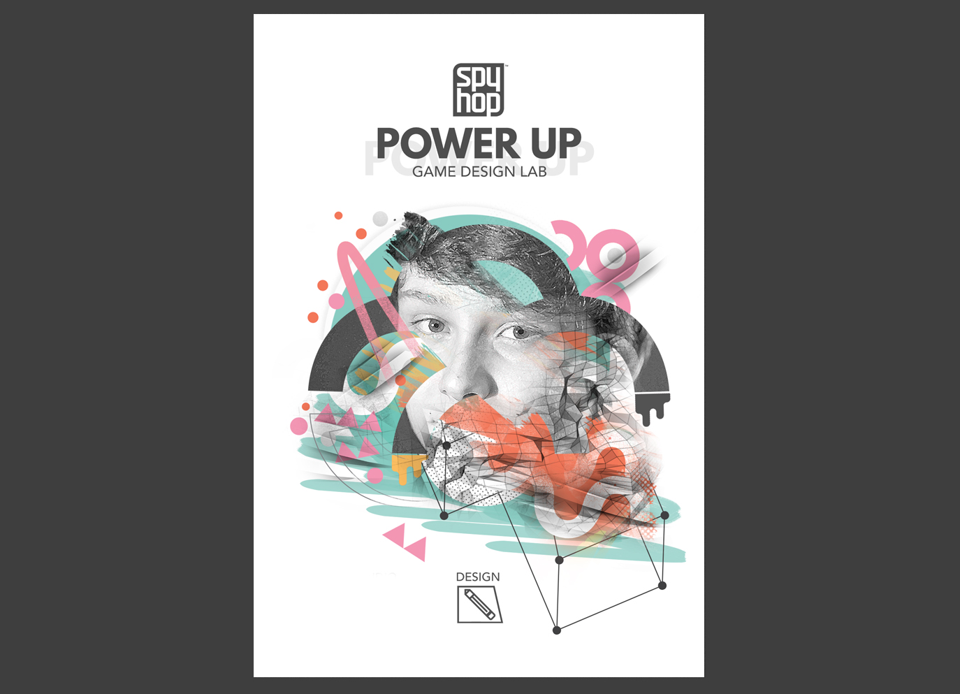 power up digital illustration